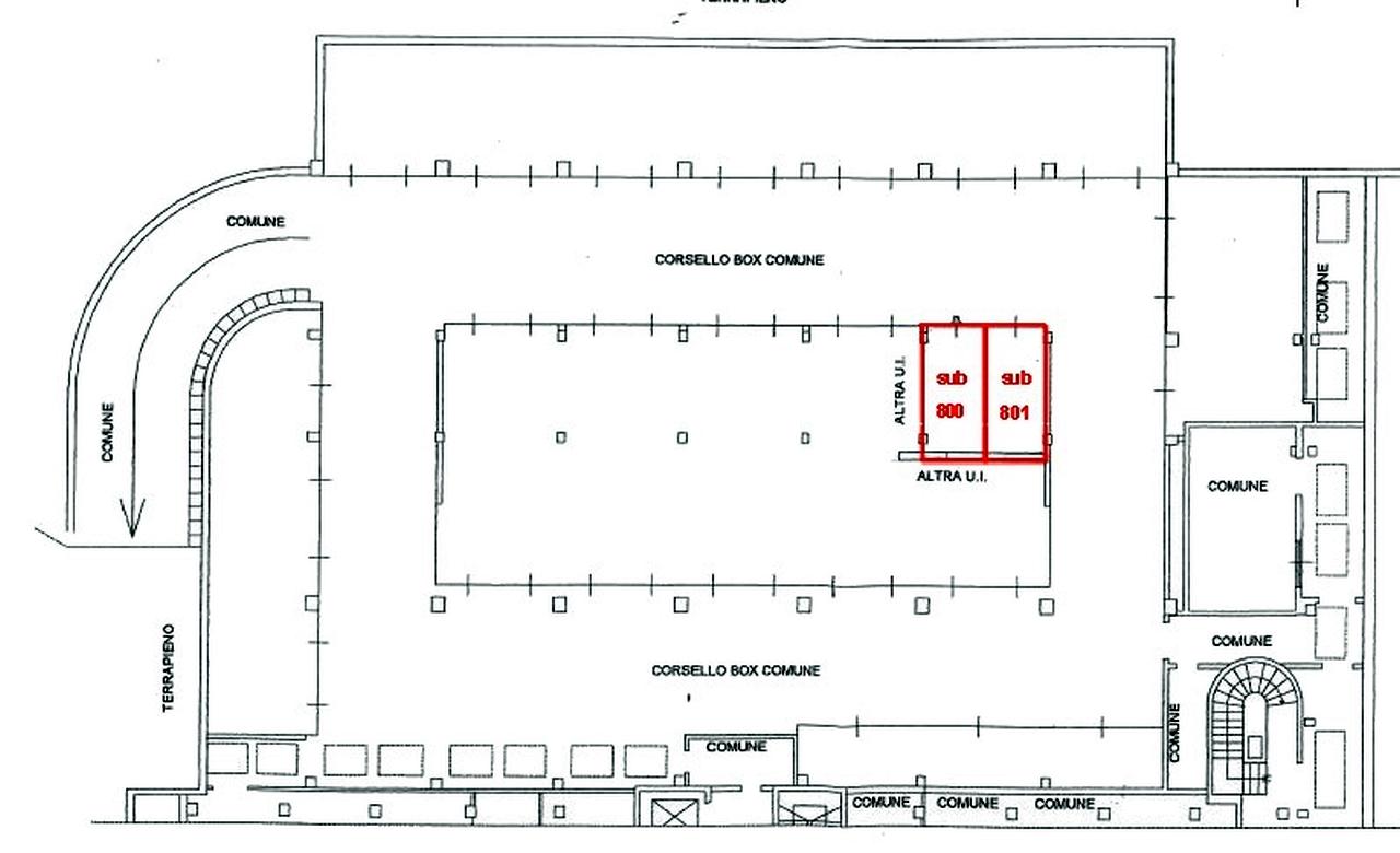 capannone in Affitto  a milano - RIF. ML280