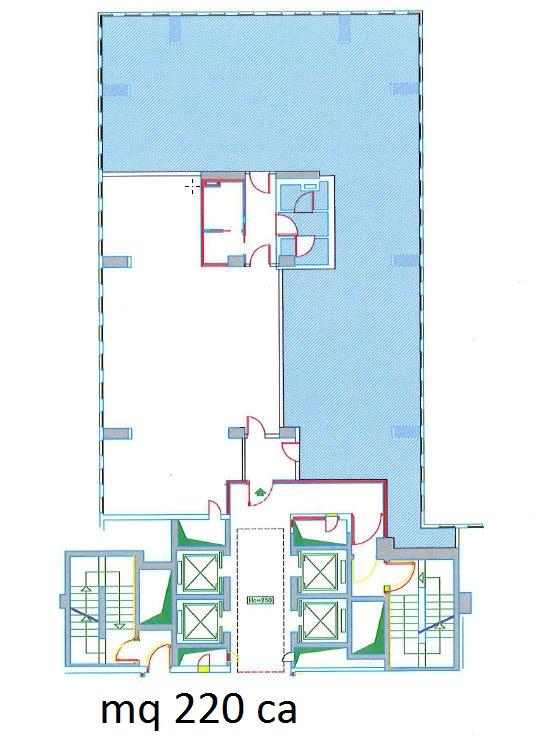 Ufficio Affitto SEGRATE Mq 220 euro 28600