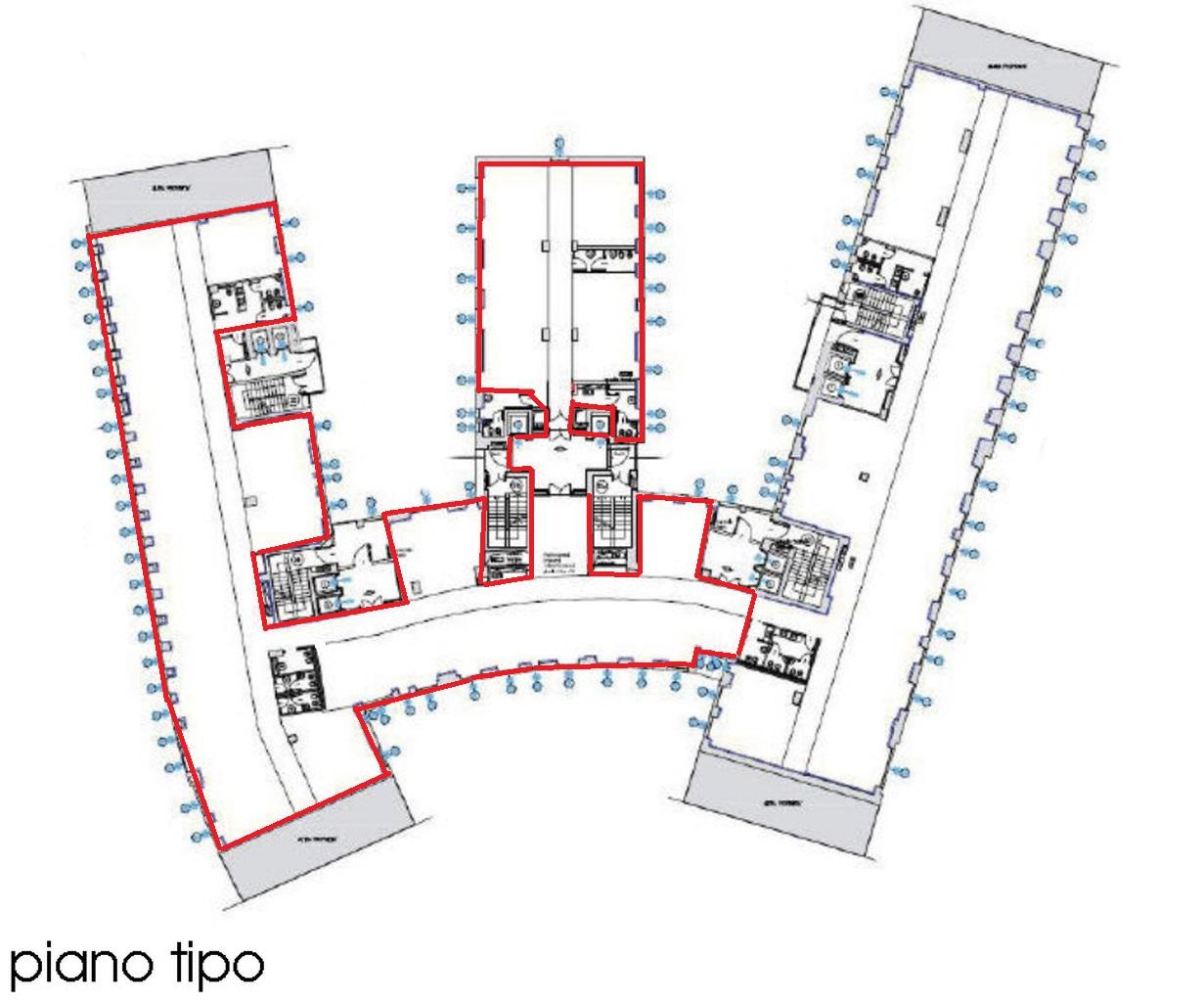 Ufficio Affitto MILANO Centro Mq 1733