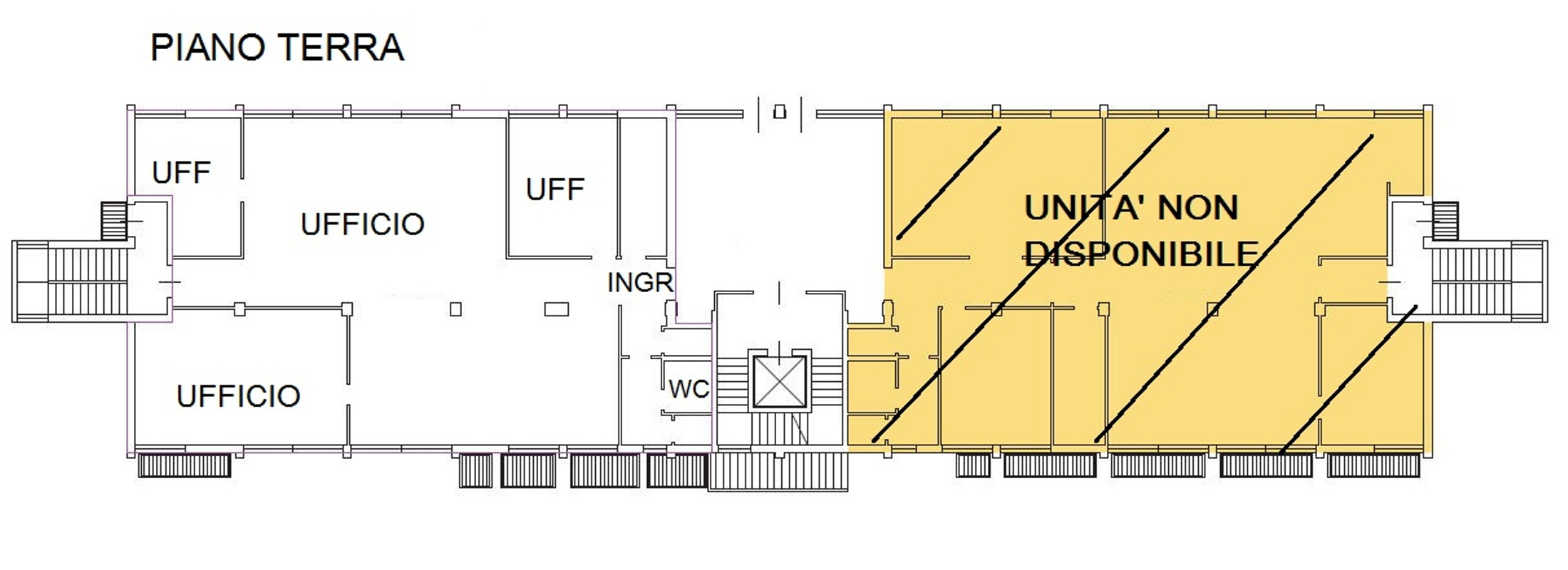 Capannone,Negozio,Ufficio in Affitto  a Vimercate - RIF. ULQL023