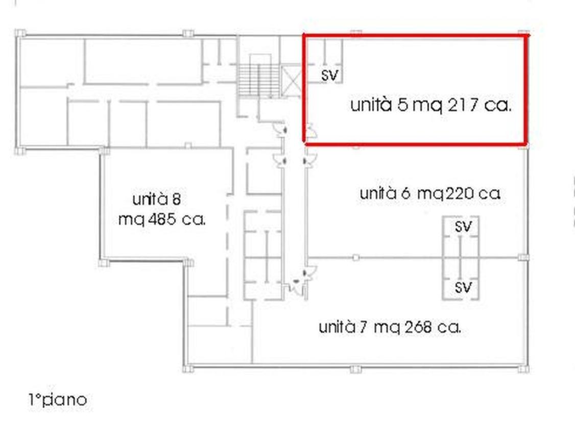 ufficio in Vendita  a monza brianza - RIF. UV482