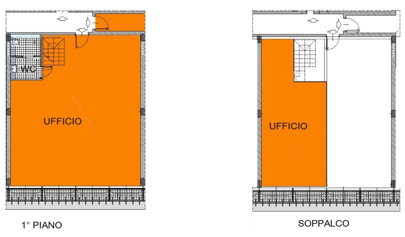 ufficio in Vendita  a monza brianza - RIF. UV757