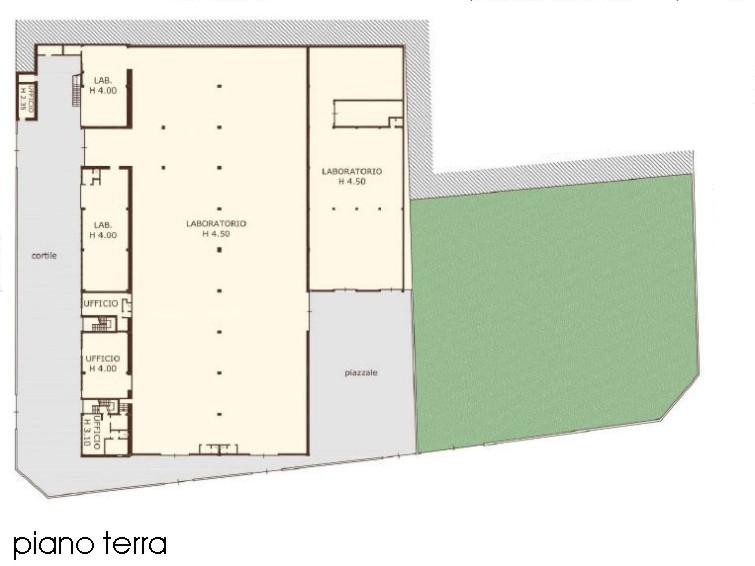 Capannone Affitto MILANO Certosa Mq 4263