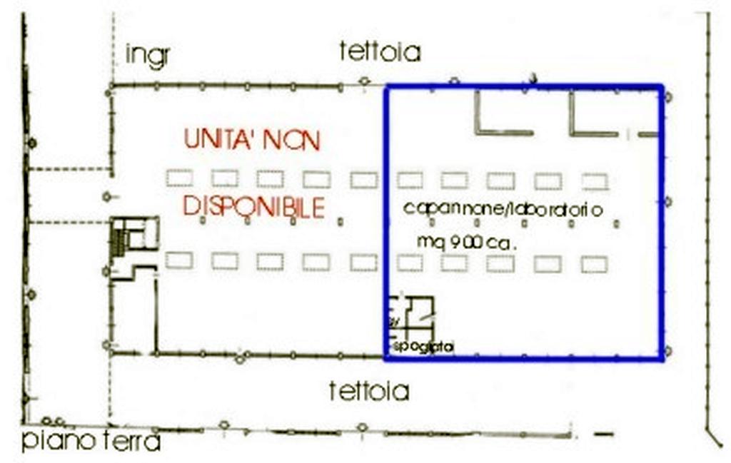 Capannone Affitto MILANO V.le Monza Mq 900 euro 90000