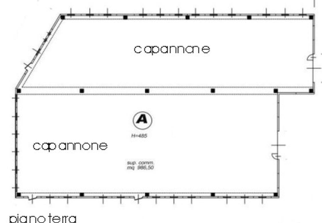 CAPANNONE in Affitto  a Monza brianza - RIF. ZLII001